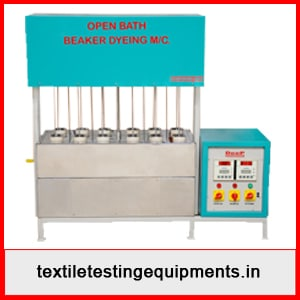 Open Bath Beaker Dyeing Machine Manufacturer in India